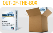 Out of the box - Novatek International News Updates - 1 CFR Part 11 Compliant - Out-of-the-box LIMS software solutions