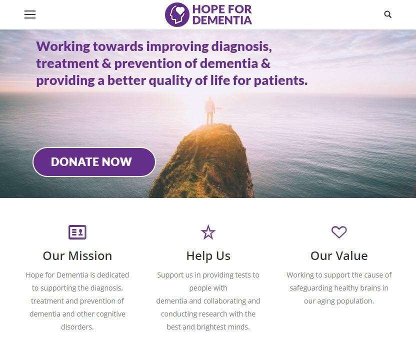Corporate Citizenship - hope for dementia